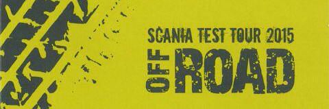 ZTE na Scania Test Tour 2015 Off Road