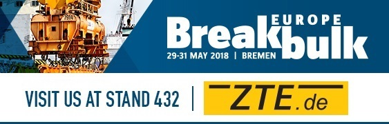 BE OUR GUEST AT BREAKBULK EUROPE 2018!
