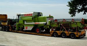 Step frame low loaders